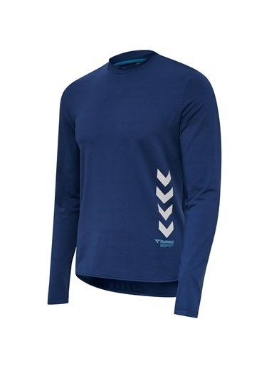 Hummel Marley Uzun Kollu Tışört Mavi
